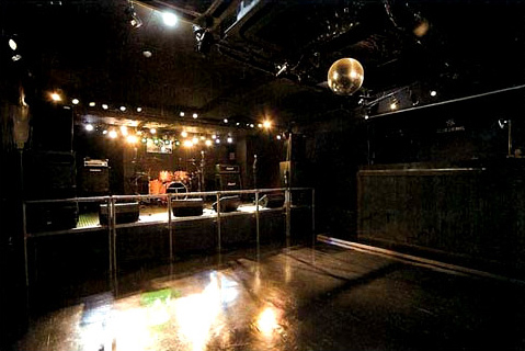 クラブクロールのステージ