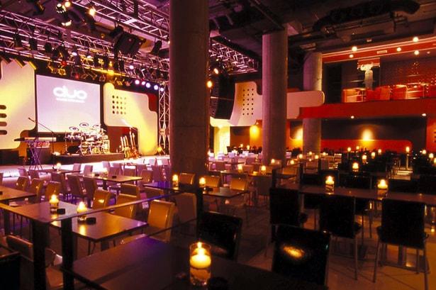 デュオミュージックエクスチェンジのステージとフロア