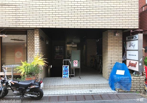 高円寺4thの入口付近