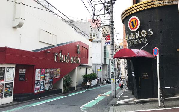 ランブリングストリートにあるクラブ