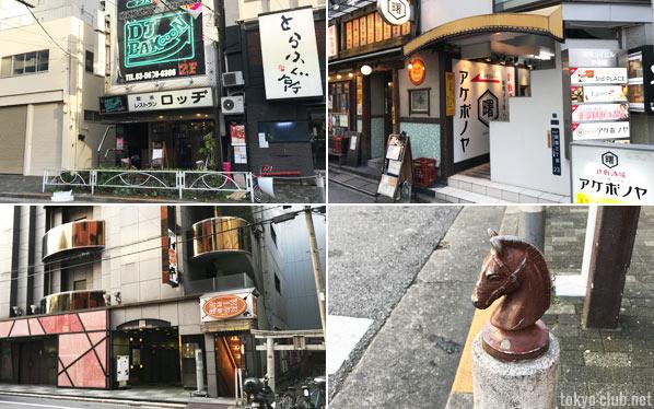 錦糸町界隈のクラブやDJバー