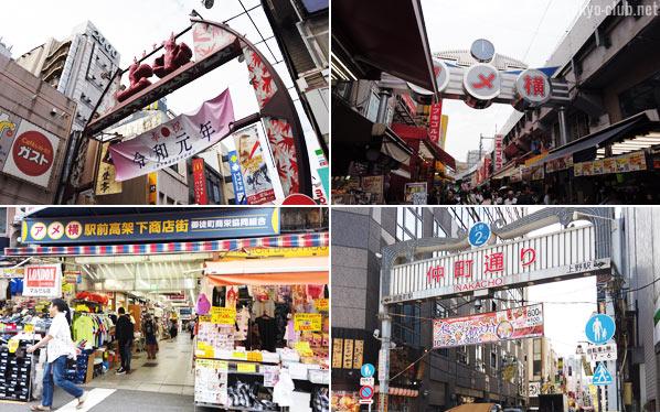 上野の街並み